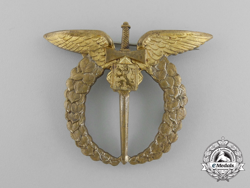 eMedals-Czechoslovakia. A Pilot Badge, French-Made Version, c.1943