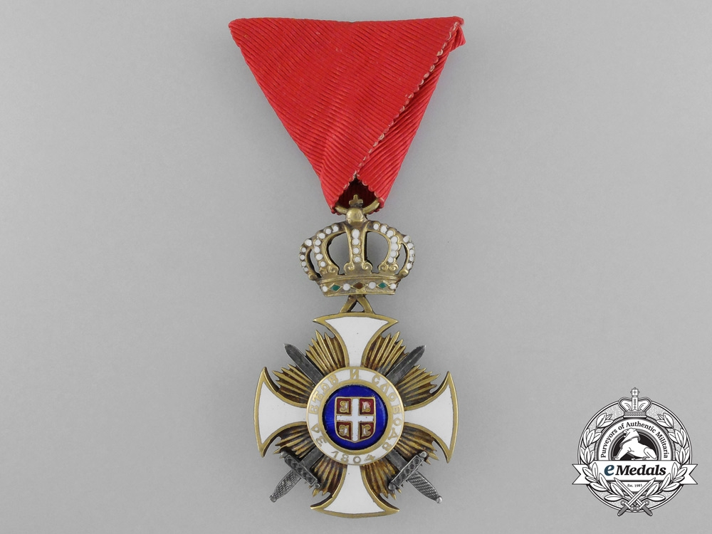 eMedals-A Serbian Order of the Star of Karageorge; Fourth Class