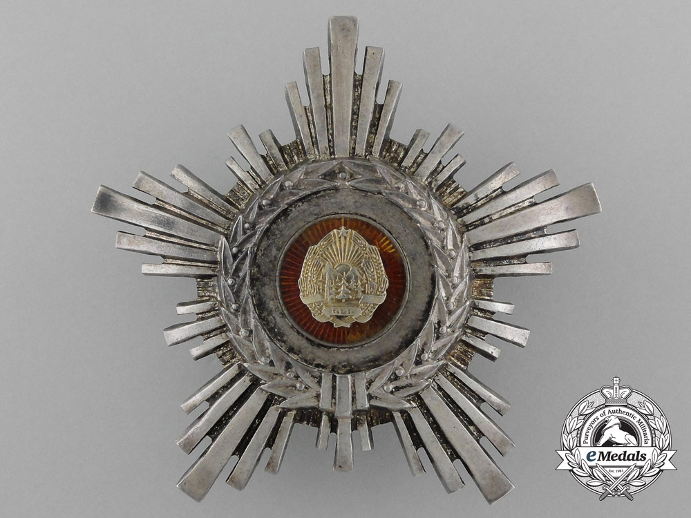 eMedals-An Order of the Star of the People's Republic of Romania, 3rd Class (1948-1966)