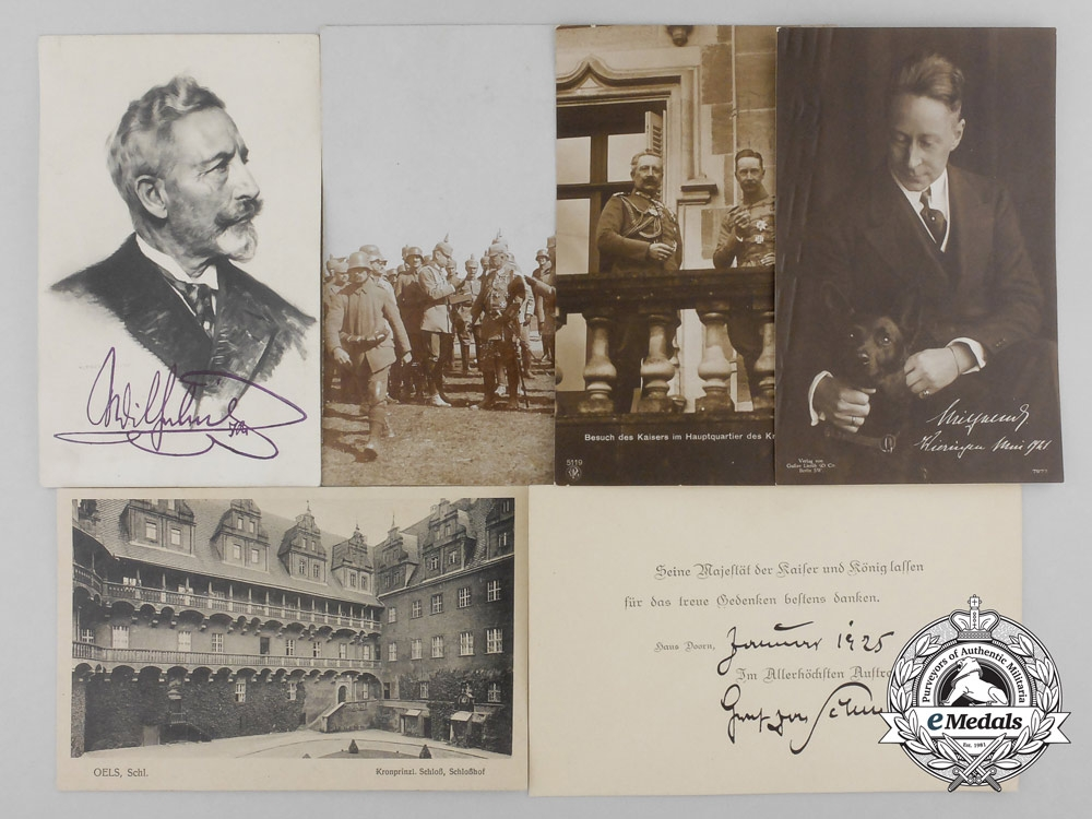 eMedals-A Collection of Picture Postcards Related to German Emperor Wilhelm II