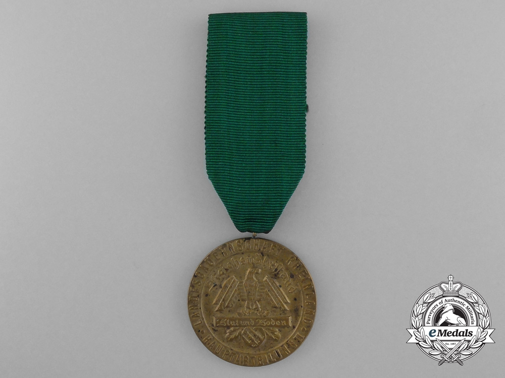 """eMedals-A Blut und Boden Rheinland Landesbauernschaft """"For Exceptional Achievements"""" Medal"""