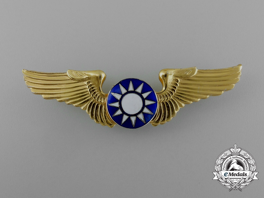 eMedals- A Republic of China Air Force Basic Pilot Badge