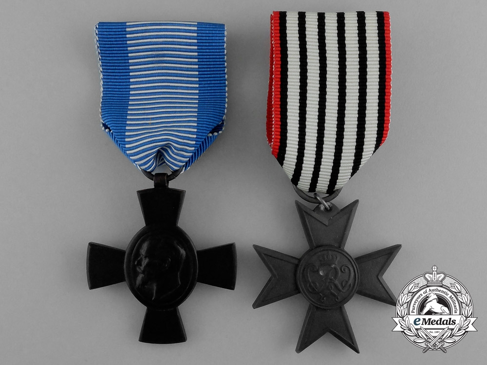 eMedals-Two First War German Imperial Crosses