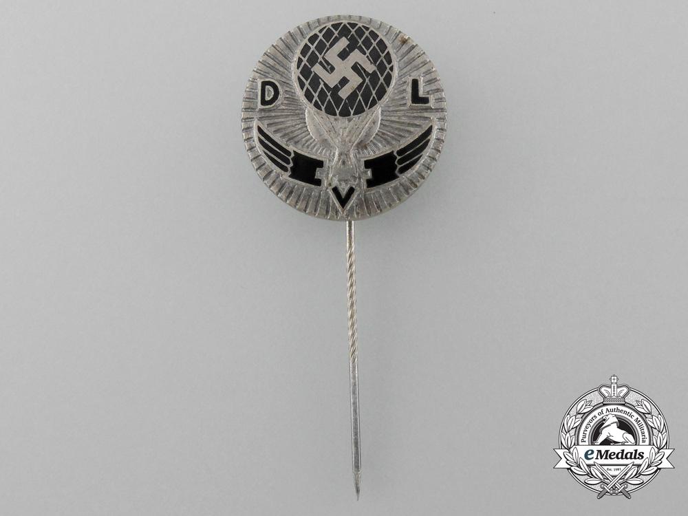 eMedals-A German Air Sports Association Balloon Pilot Stick Pin