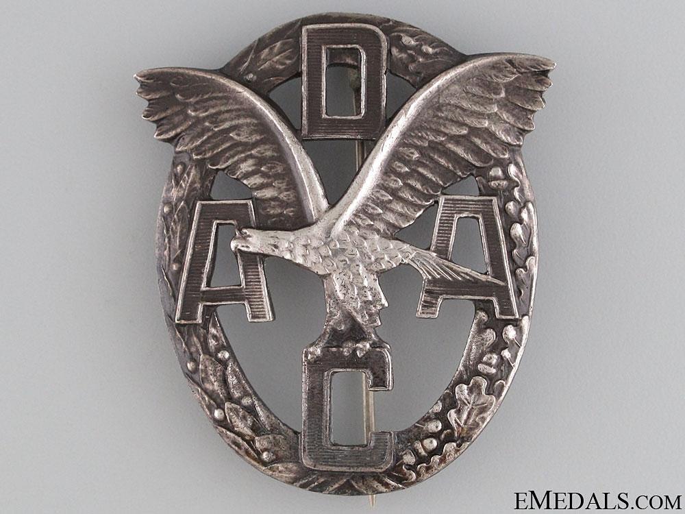 eMedals-DAAC Motor Sports Badge - Silver Grade