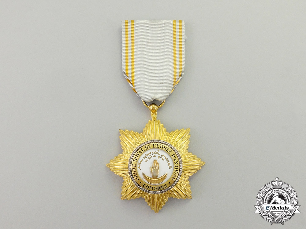 eMedals- A Comoros Islands Royal Order of the Star of Anjouan, Knight