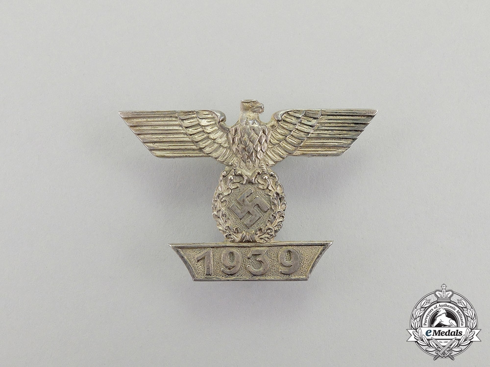 "eMedals-Germany, Third Reich. A Clasp to the Iron Cross 1939 First Class; First Type by ""Boerger & Co."""