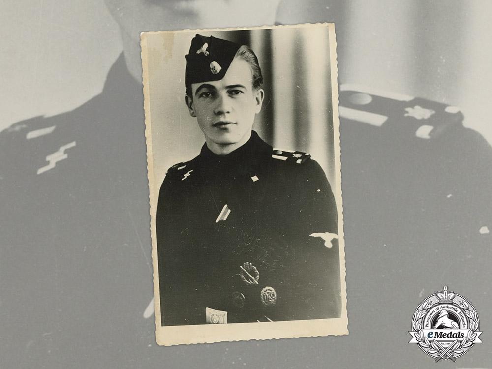 eMedals-Germany. A Wartime Picture Postcard of an SS-Unterscharführer of LSSAH