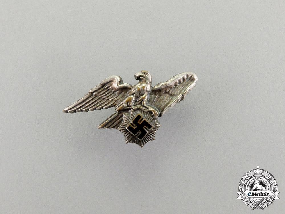 eMedals-A Third Reich Period RLB (Reichsluftschutzbund) Lapel Badge