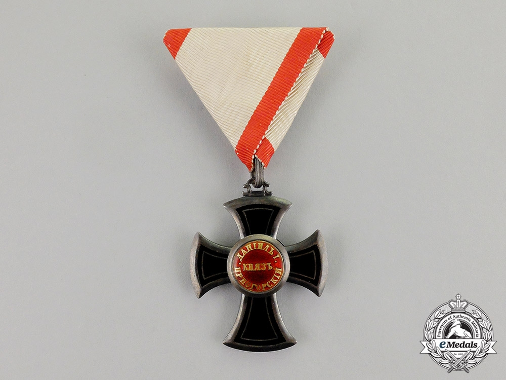 eMedals-Montenegro, Kingdom. An Order of Danilo, Fifth Class Knight, c.1900