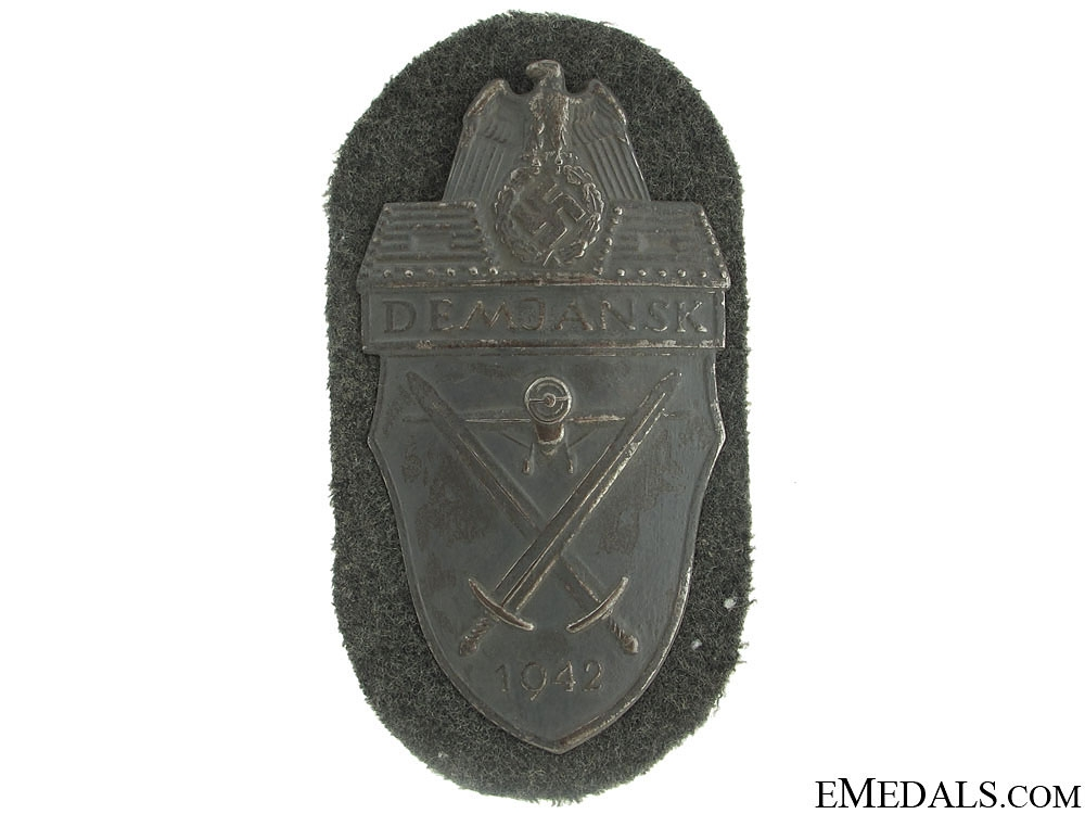 eMedals-Demjansk Shield