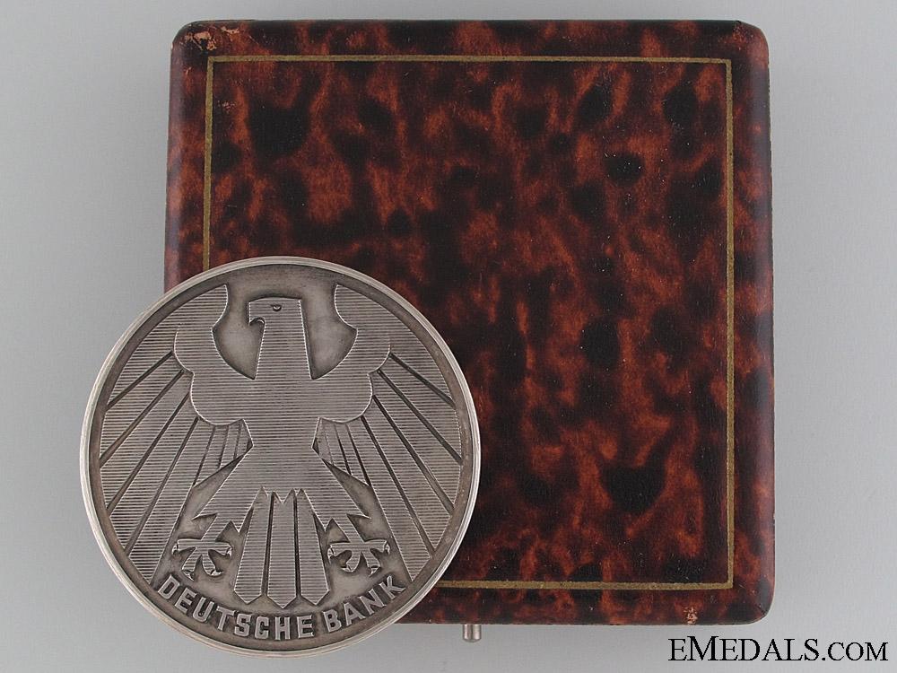 eMedals-Deutsche Bank Merit Award 1913-38