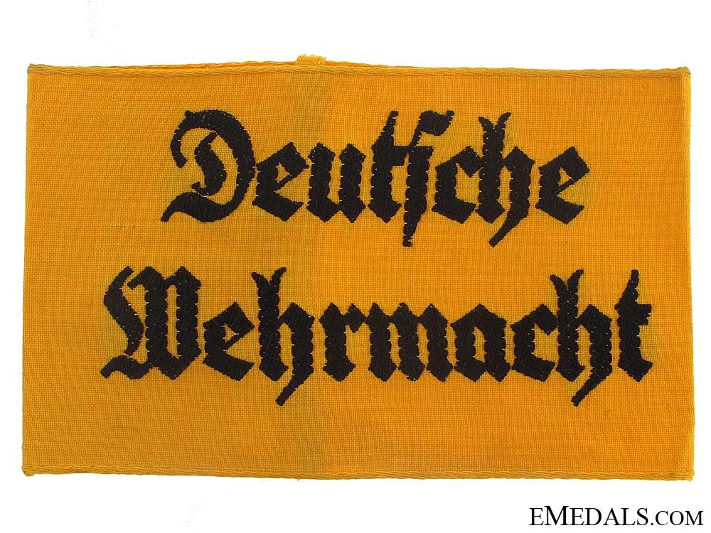 eMedals-Deutsche Wehrmacht Armband