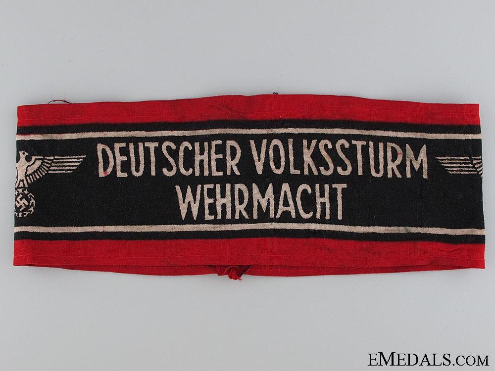 eMedals-Deutscher Volksstrum Wehrmacht Armband