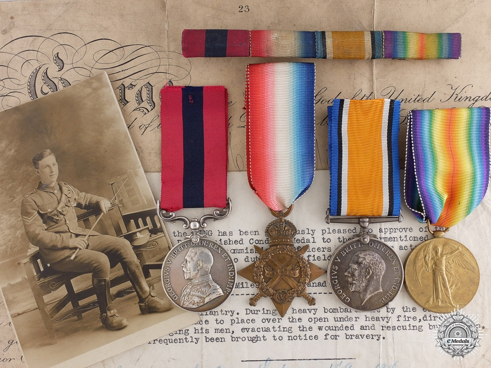 eMedals-Distinguished Conduct Medal Group to Brothers Henry & George Miles