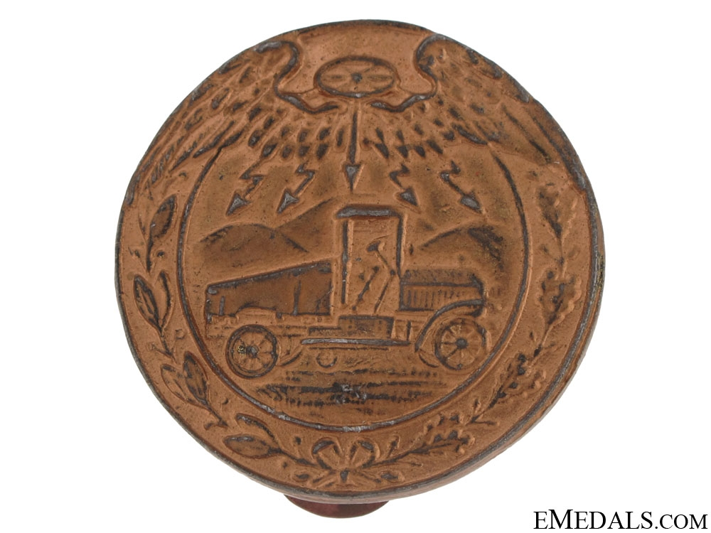eMedals-Driver of Heavy Vehicle Badge 1912