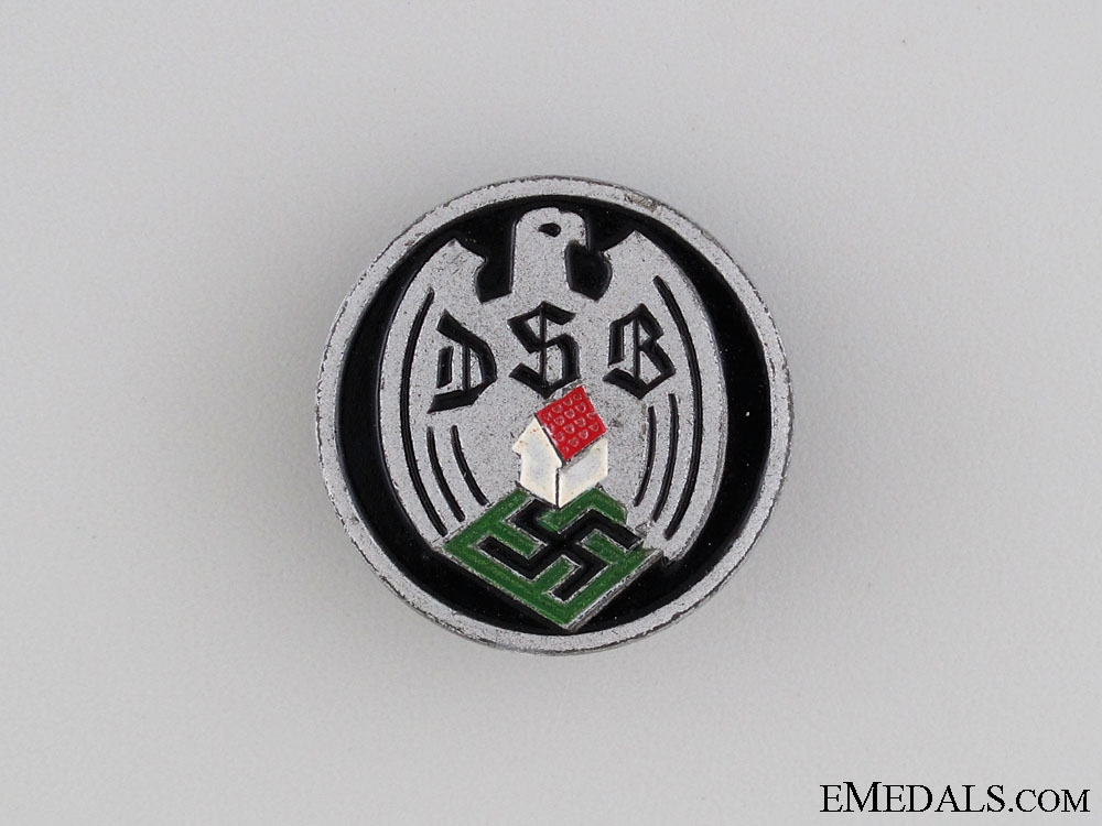 eMedals-DSB German Homeowner's Membership Badge