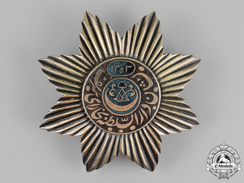 eMedals-Russia, Empire. Emirate of Bukhara. An Order of the Noble Bukhara, 1st Class Star, c.1895
