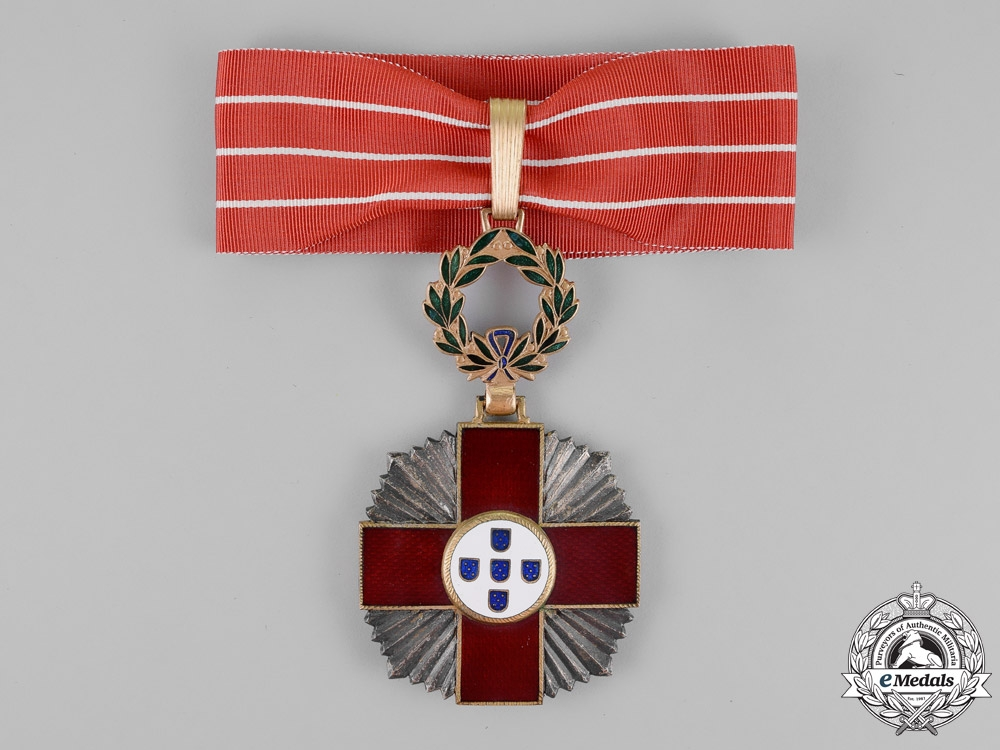 eMedals-Portugal, Kingdom. A Red Cross Decoration, 2nd Class Commander, c.1918