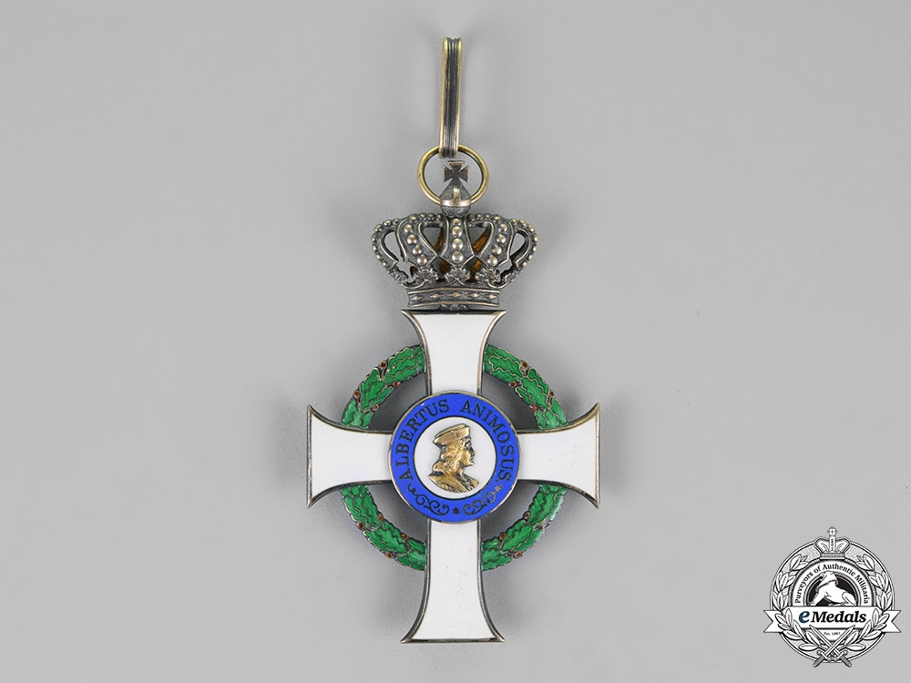 eMedals-Saxony, Kingdom. An Albrecht Order, Grand Cross Badge, by G.A.Scharffenberg, c.1910