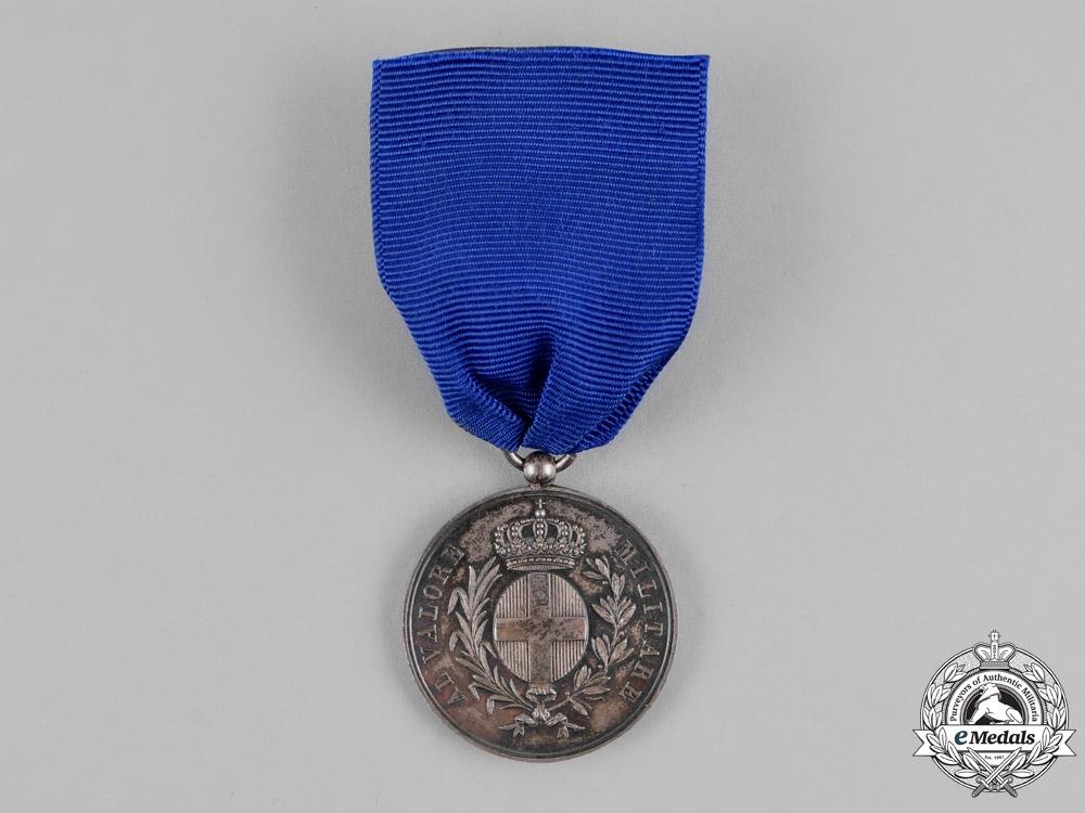 eMedals-Italy, Kingdom. An Al Valore Militare, Silver Grade, French Issue, c.1859