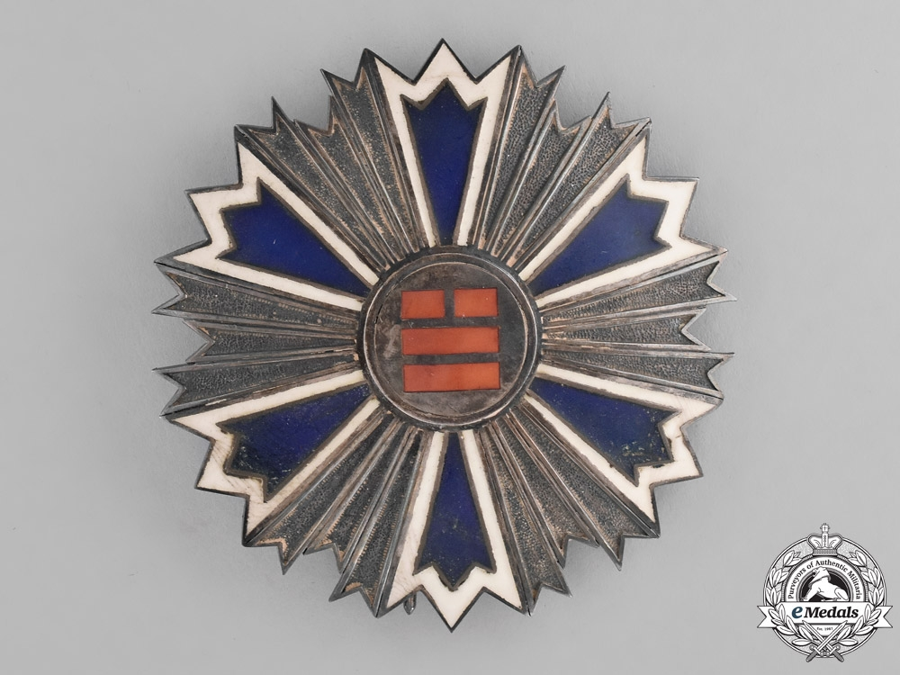 eMedals-Korea, Empire. An Order of the Eight Trigrams, Second Class Star, c.1910