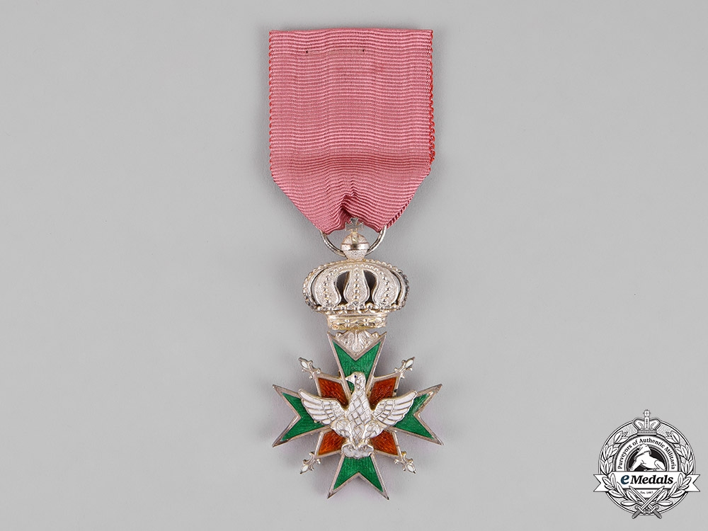 eMedals-Saxe-Weimar. An Order of the White Falcon, Second Class Knight, c.1910