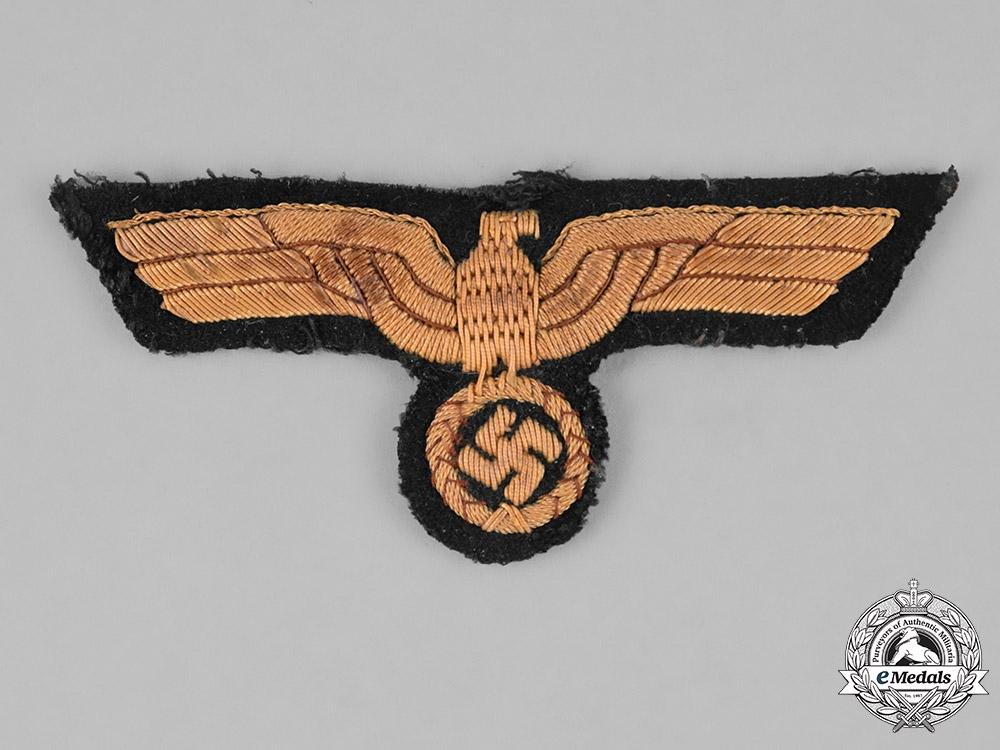 eMedals-Germany, Kriegsmarine. A Kriegsmarine Officer's Breast Eagle, Uniform Removed