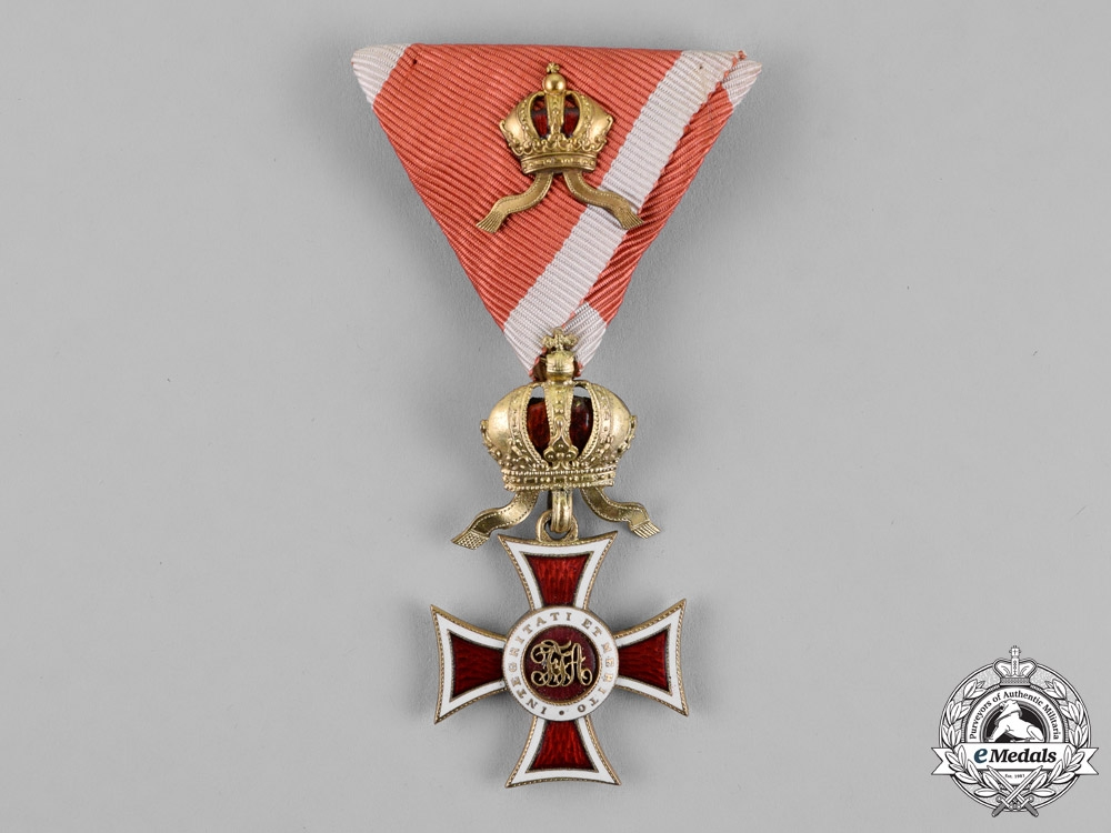 eMedals-Austria, Imperial. A Leopold Order, Knight's Cross, with Small Decoration, c.1915
