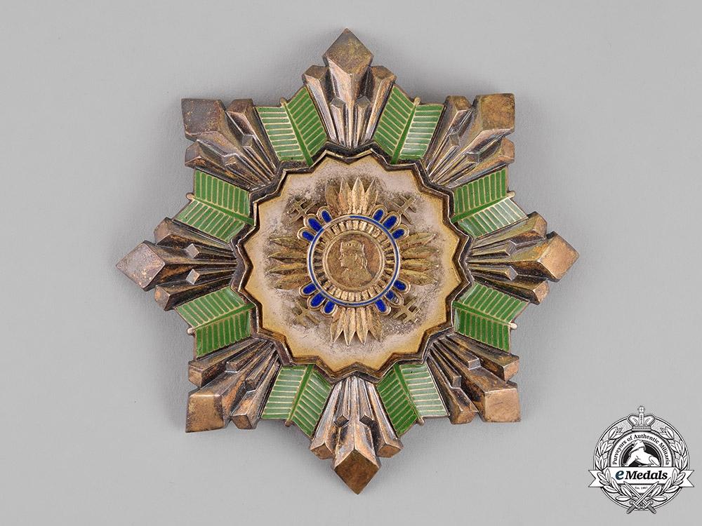 eMedals-Slovakia, Republic. An Order of the Prince Pribina, Special Grade Grand Cross, c.1941
