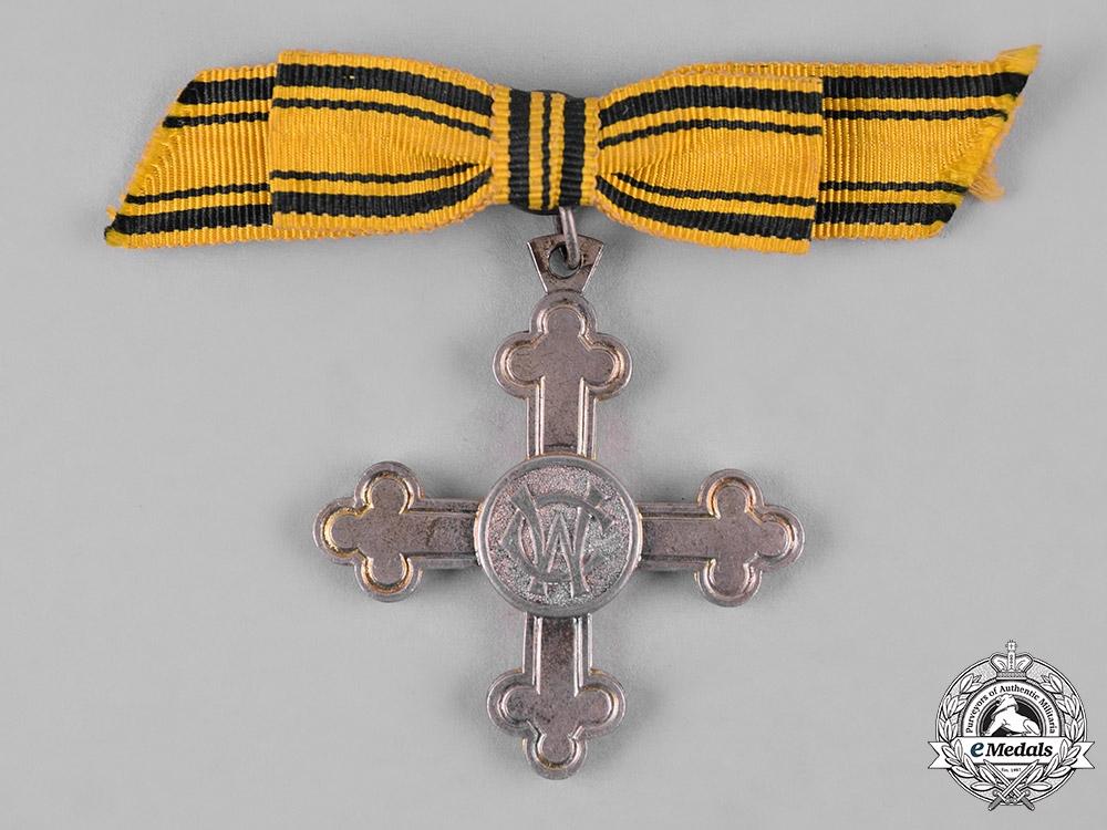 eMedals-Württemberg, Kingdom. A Charlotte Cross