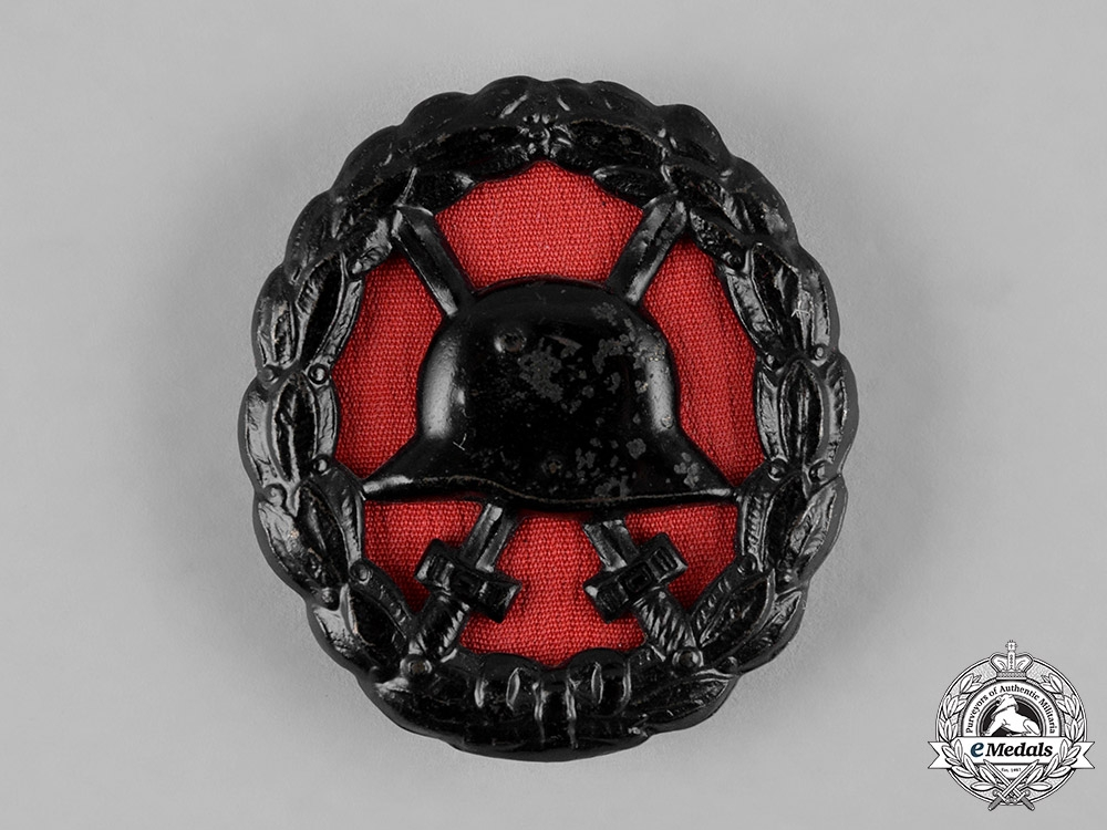 eMedals-Germany, Imperial. A Wound Badge, Black Grade,