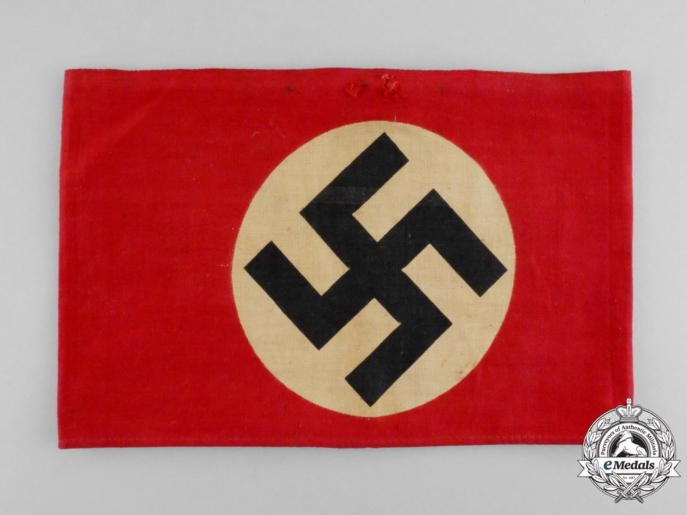 eMedals-Germany. An NSDAP Member's Armband