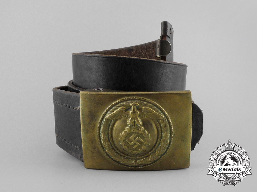eMedals-An SA Enlisted Man's Belt with Buckle