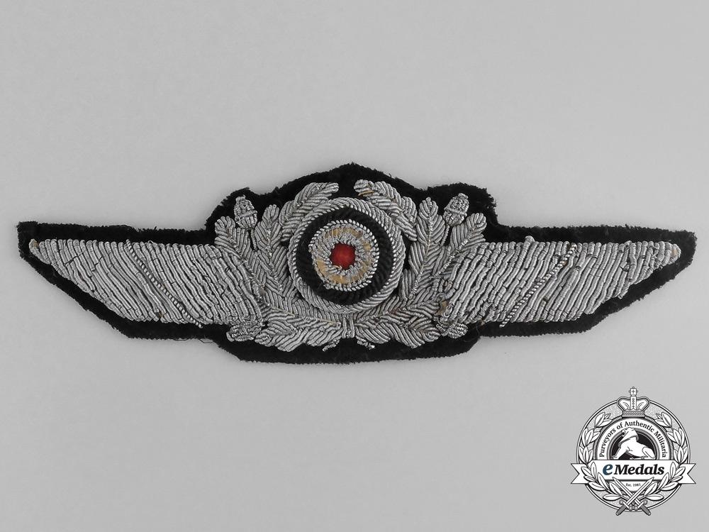 eMedals-An Unusual Early Luftwaffe Visor Cap Wreath and Cockade