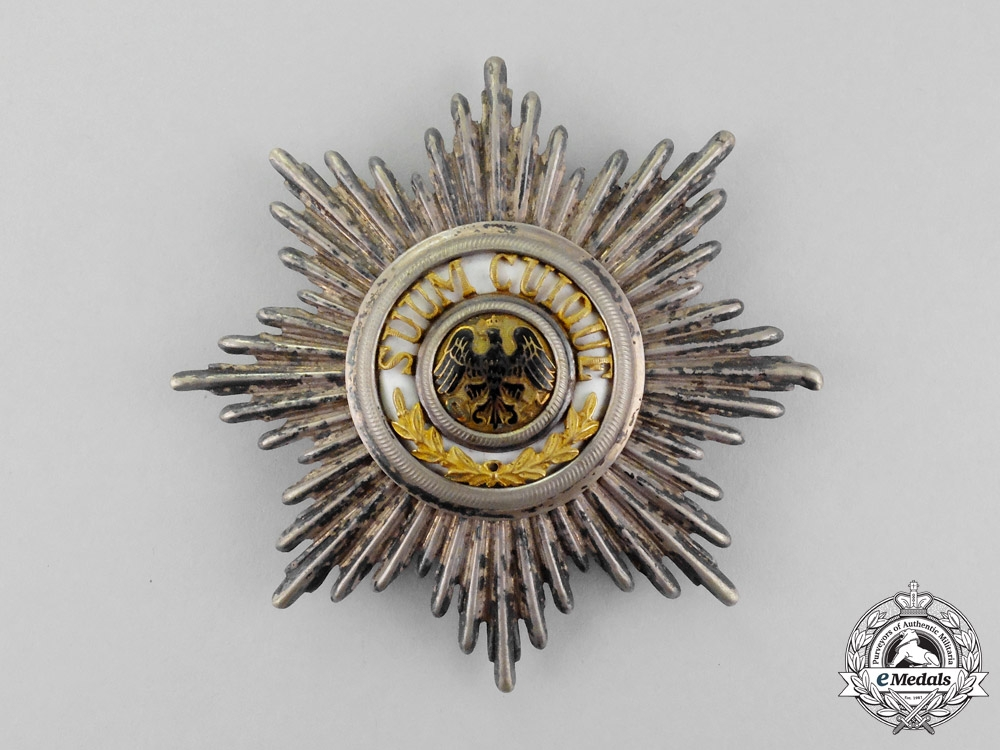 eMedals-Prussia. An Emblem from an 1895 Prussian Guards Officer's Pickelhaube