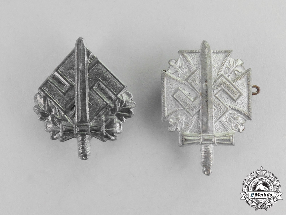 eMedals-Two NSKOV Disabled War Veterans Pins