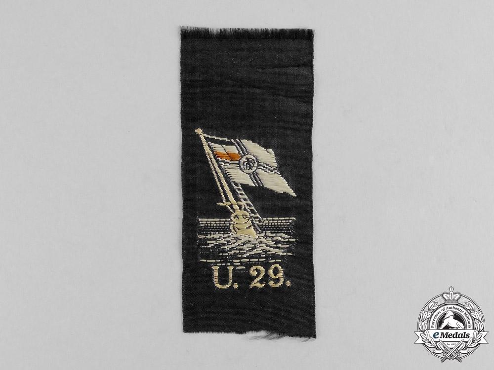 eMedals-U-29 Cloth Patch