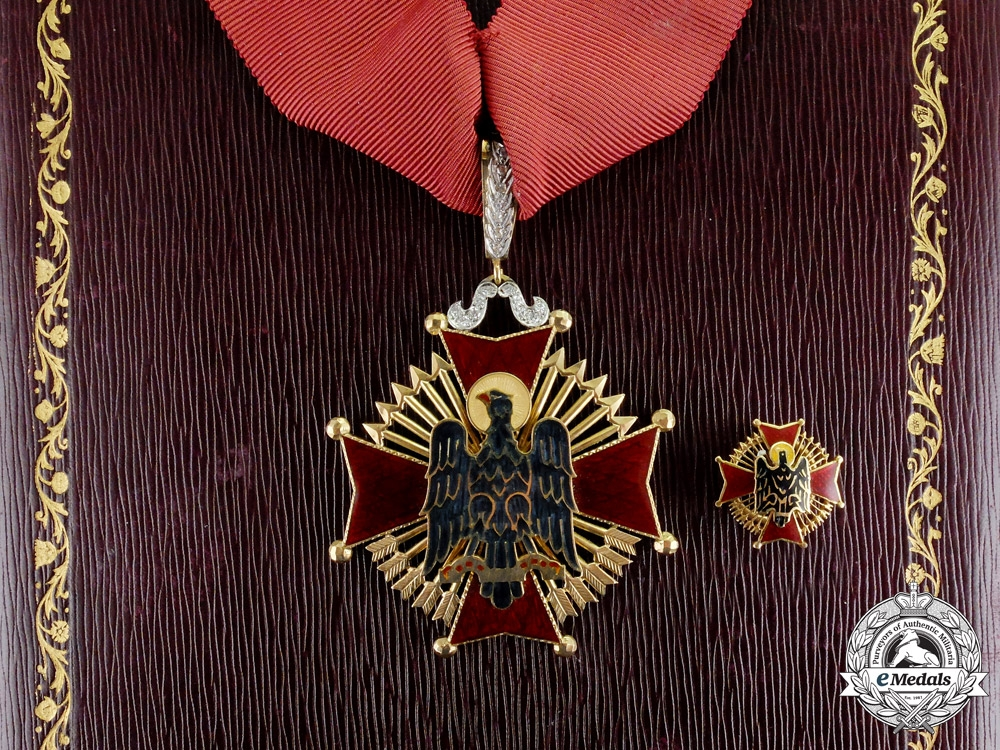 eMedals-Spain. An Order of Cisneros in Gold & Brilliance, Commander, c.1974