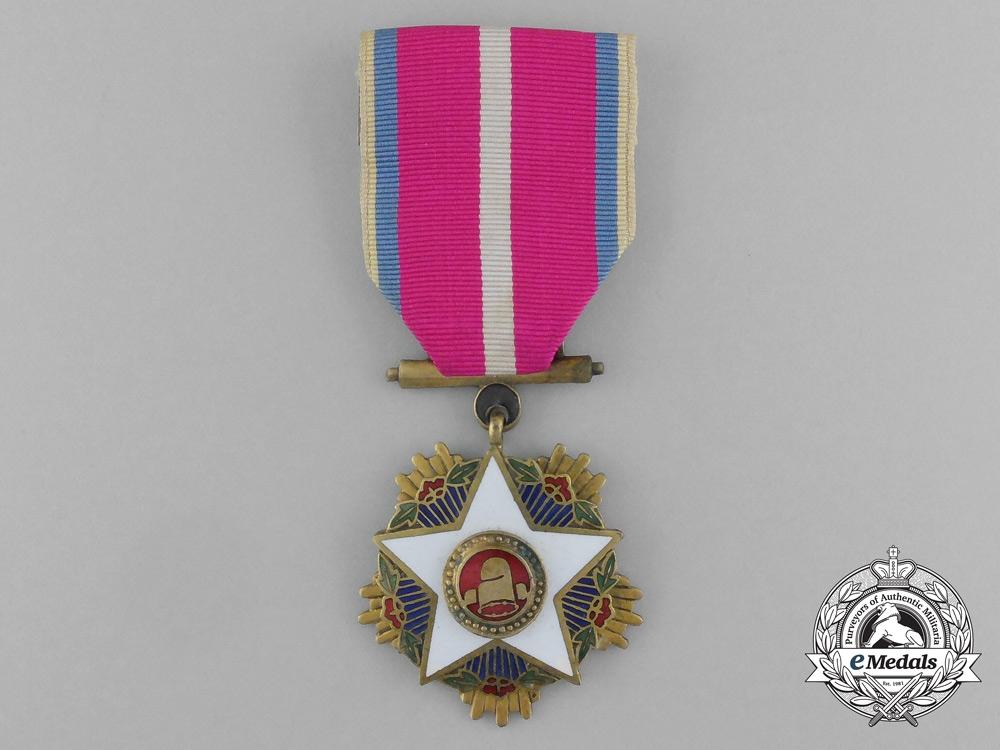 eMedals-Korea, Empire. An Order of the White Star, Third Class, c.1955