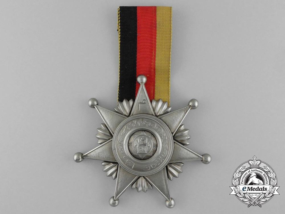 eMedals- Afghanistan, Kingdom. An Order of Fidelity, II Class Star, c.1935