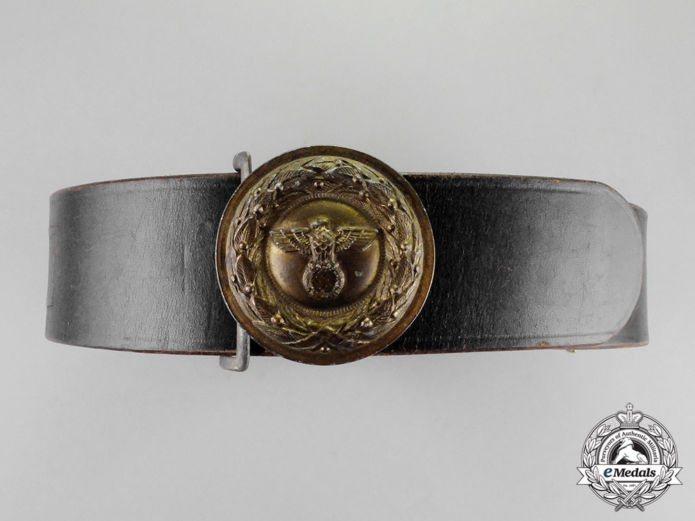 eMedals- Germany. A National Penal Service Official's Belt with Buckle by C. E. Junker