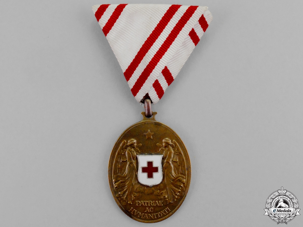 eMedals-An Austrian Honour Decoration of the Red Cross