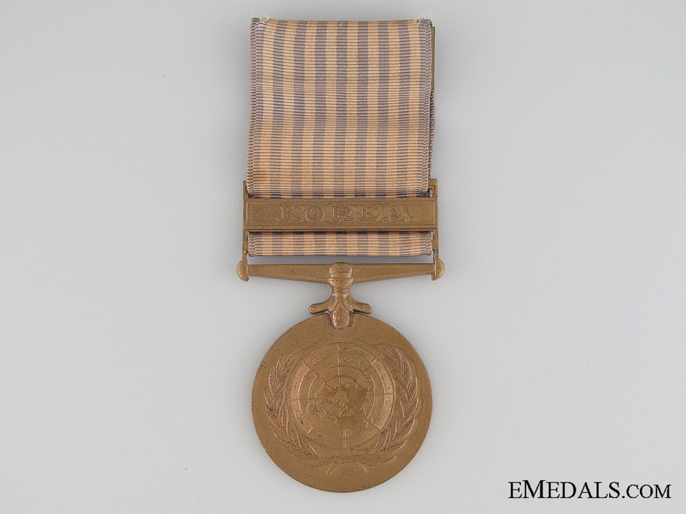 eMedals-Dutch Issued Korea Medal