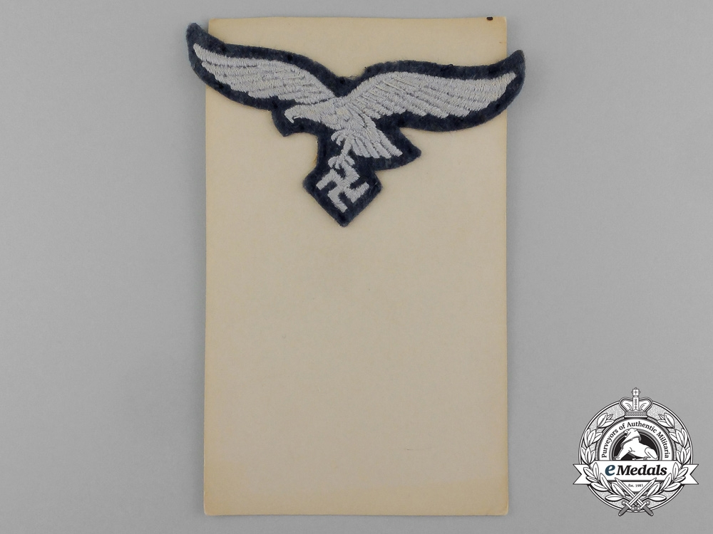 eMedals-A Luftwaffe NCO/EM Breast Eagle on its Original Salesman Board