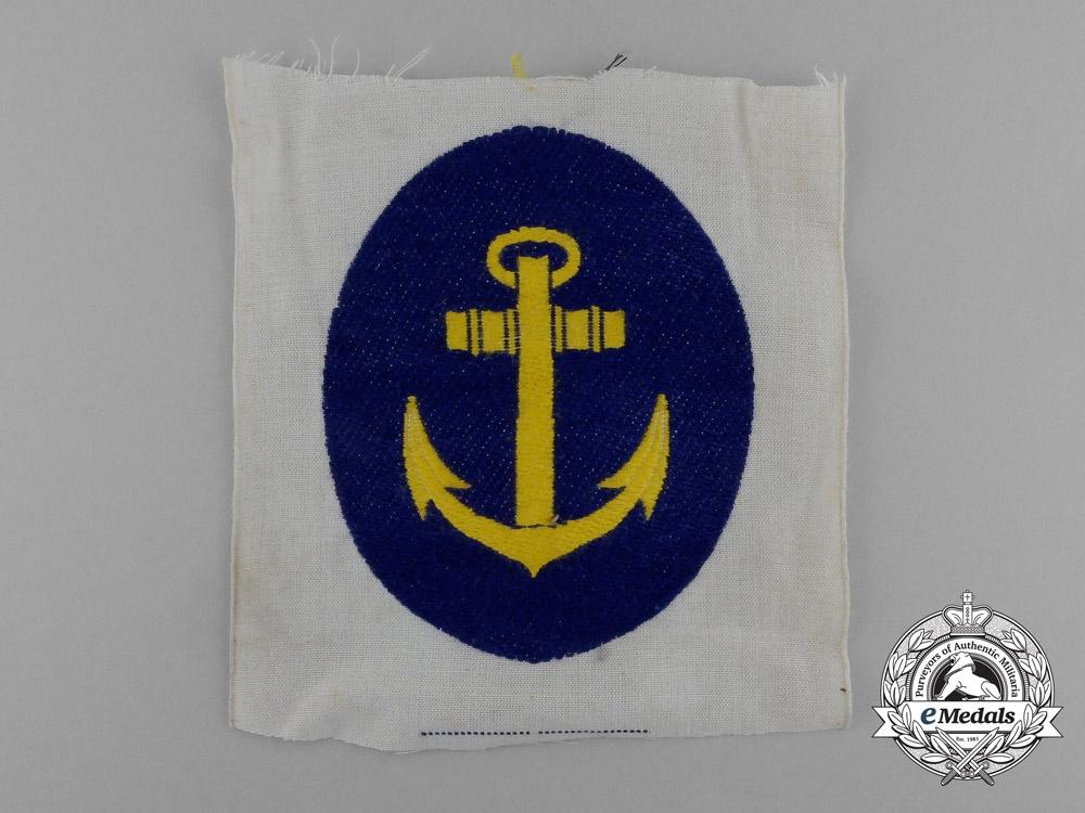 eMedals-A Mint Kriegsmarine Sports Shirt Insignia