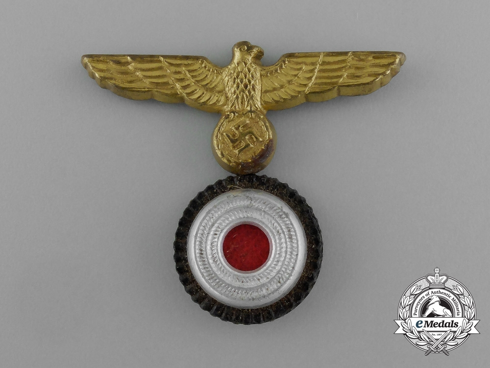 eMedals-A Kriegsmarine NCO Cap Insignia