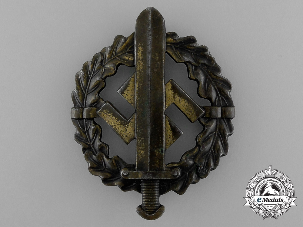 eMedals-A Bronze Grade SA Sports Badge by Fechler of Bernsbach