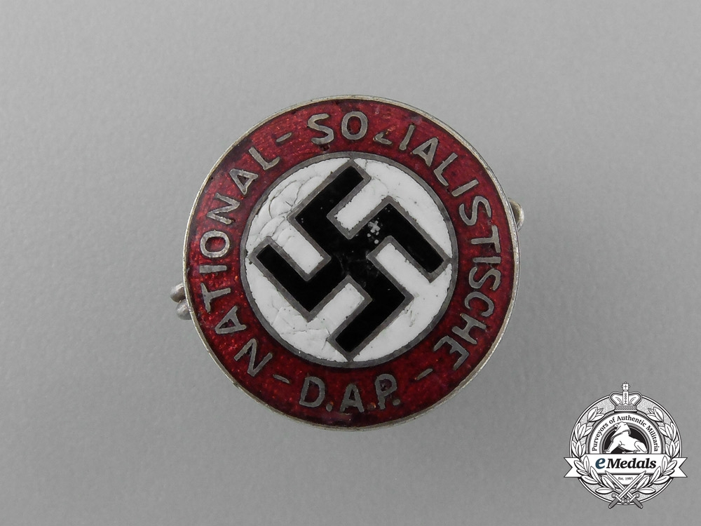 eMedals-An Early Small NSDAP Party Member's Badge