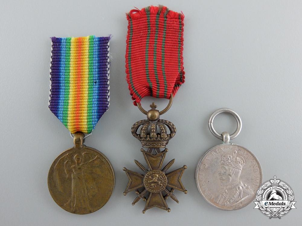 eMedals-Three First War Period European Miniature Medals and Awards